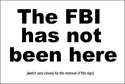 This scam-mail is not from the FBI